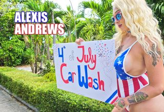 Alexis Andrews 4th of July Car Wash